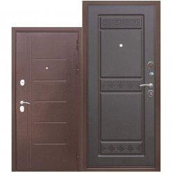 Входная дверь Троя 10 см Антик Венге темная