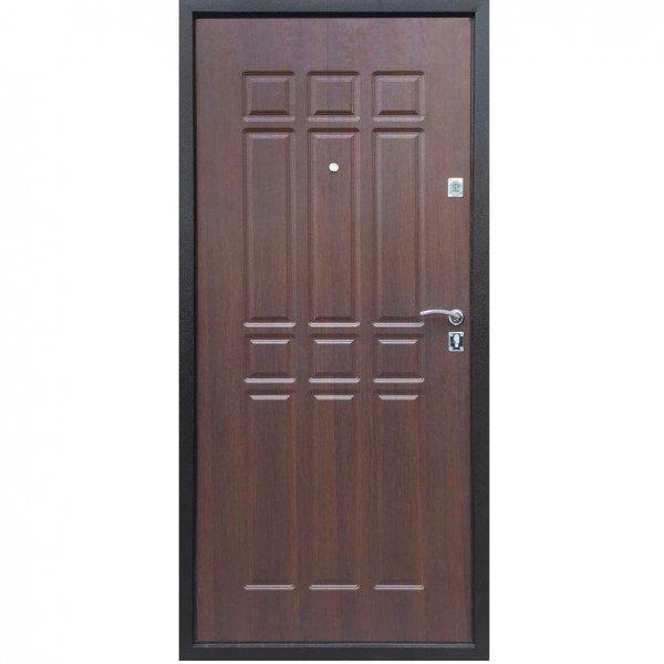 Входная дверь Сопрано дуб шоколад