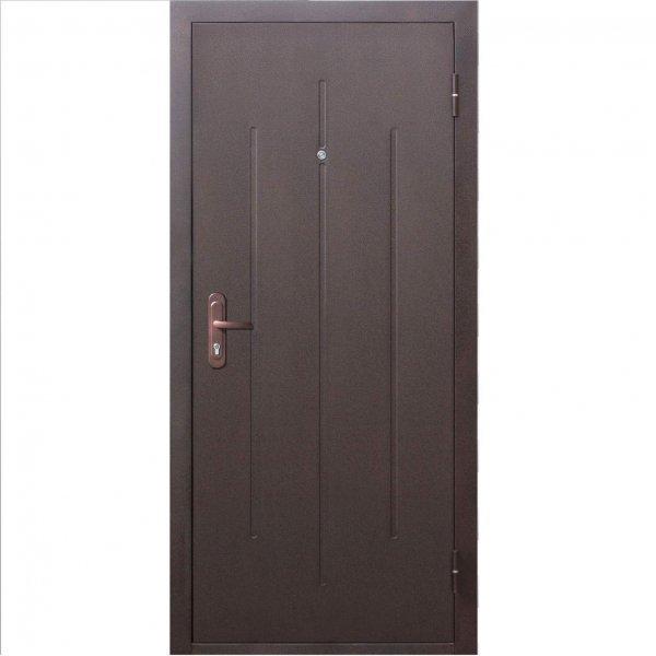 Входная дверь Стройгост 5-1 металл/металл (Наружное открывание)