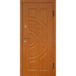 Вхідні двері К1007 Дніпро дуб золотий