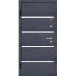 Двері вхідні Aplot, Vip, Комфорт, 960, лв, М7001, Венге сірий горизонт