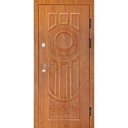 Вхідні двері П2006 Престиж 3D дуб золотий