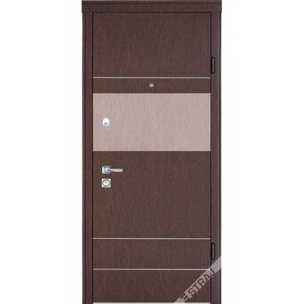 Вхідні двері СТРАЖ модель ''Бревис Plus Standart''