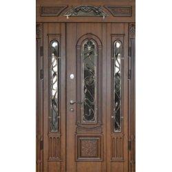 Вхідні двері 1170 P20 ПВХ-90 патина