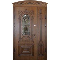 Вхідні двері 1170 P22 ПВХ-90 патина