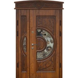 Вхідні двері 1170 P24 ПВХ-90 патина