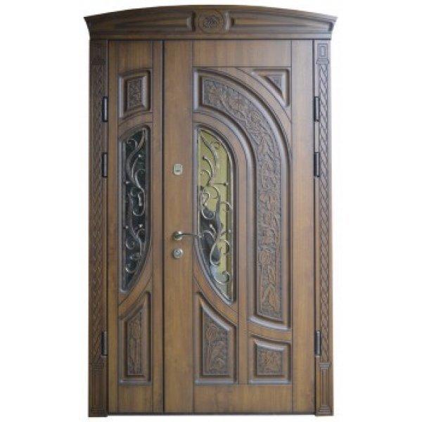 Вхідні двері 1170 P28 ПВХ-02 патина
