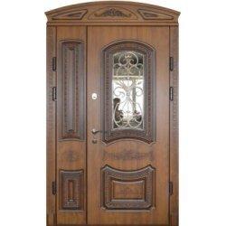 Вхідні двері 1170 P31 ПВХ-90 патина