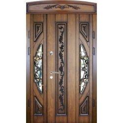 Вхідні двері 1170 P50 ПВХ-90 патина