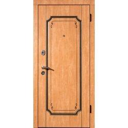 Двері вхідні Берислав, М2, Груша світла + патина, 880*2040, лв., В 15.12