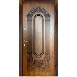 Двері вхідні Тренд в 9, Праві, О, 2050, 970, дуб зол він, дуб зол він, А 23