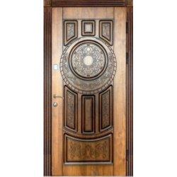 Двері вхідні Тренд в 9, Ліві, О, 2050, 970, дуб зол він, дуб зол він, А 29