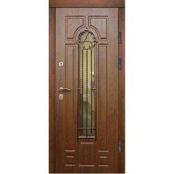 Двері вхідні Фабрика в 9 скло, Праві, О, 2050, 960, К11, дуб зол він, дуб зол мат, С 2