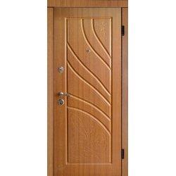 Двері вхідні Класік+ в 8, Праві, О, 2050, 860, дуб зол він, дуб зол мат, D 137