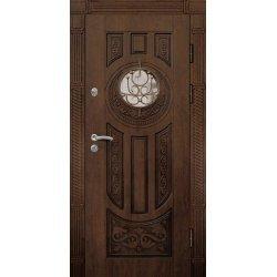 Вхідні двері П3 ПВХ-90 патина