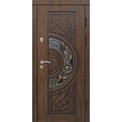 Вхідні двері П2 ПВХ-90 патина