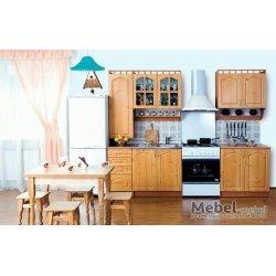Кухня Карина МДФ 2,0 з пеналом Лак БМФ
