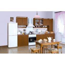 Кухня Карина МДФ 2,6 з пеналом Лак БМФ