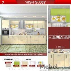 """Кухня """"High Gloss"""" Варіант 4"""