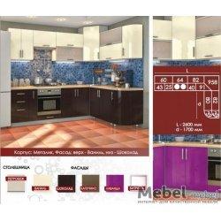 """Кухня """"High Gloss"""" Варіант 18"""