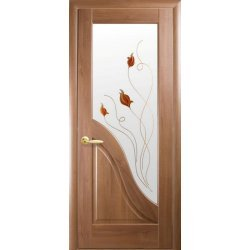 """Дверний блок Новий Стиль """"Амата Р1"""", 80, золота вільха, Правий"""