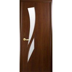 """Дверний Блок Новий Стиль """"Камея"""", 800, горіх, пр, К.МДФ 8, п-лі 2, мз 1515, без руч."""