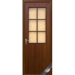 """Дверний блок Новий Стиль """"Колорі B-G"""", 90, горіх, Правий"""