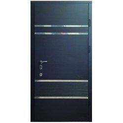 Двері вхідні М105 Венге темний горизонт