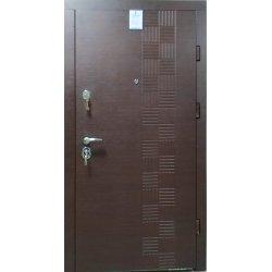 Двері вхідні W35 Горіх горизонт
