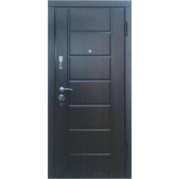 Двері вхідні W51 Венге темний