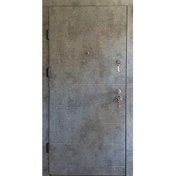 Двері вхідні W55 Мрамор сірий