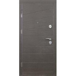 Двері вхідні W55 Венге сірий горизонт