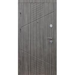 Двері вхідні W76 Дуб кантрі
