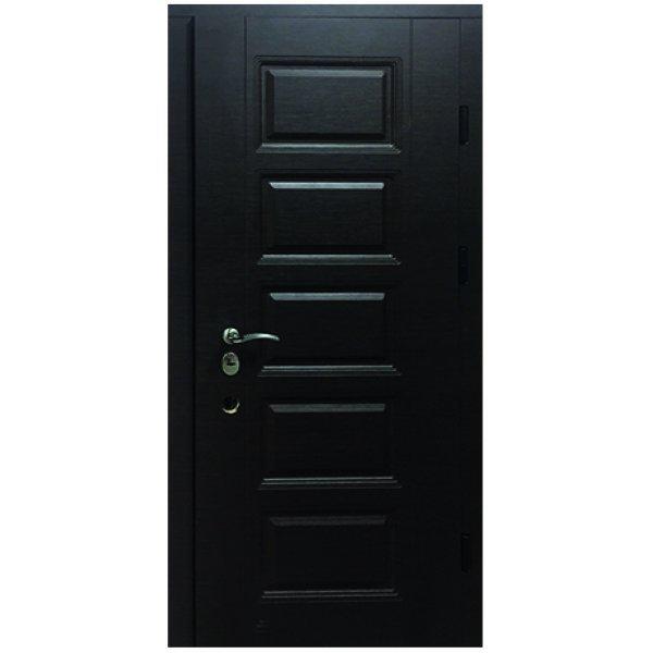 Двері вхідні W81 Горіх горизонт