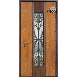 Двері вхідні Straj Proof Standard, Ліві, 950х2040, Дуб золотий, Цезар