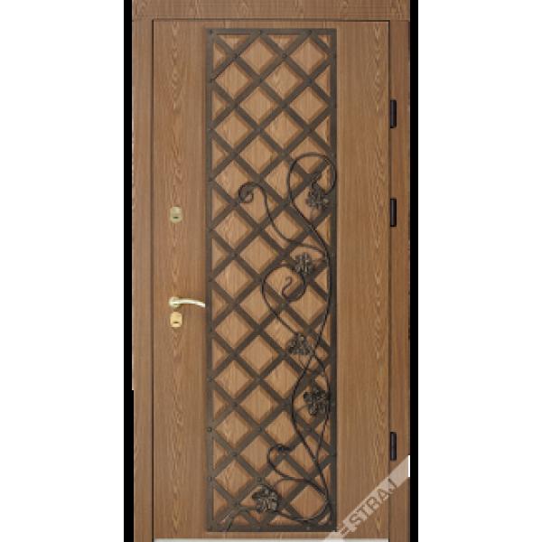 Двері Straj Std,Гранд Лоза,Він дуб коричн.реш/Гранд,Він.дуб коричн.,1200,Лів