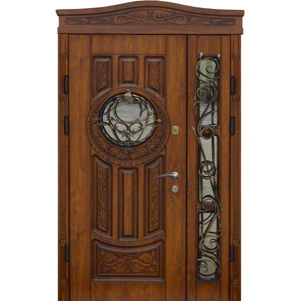 """Вхідні двері Термопласт+ """"Стандарт 90"""", 970х2050, Праві, 10, ПВХ-02"""