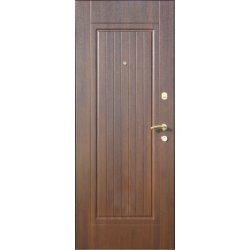 """Вхідні двері Термопласт+ """"Оптима"""", 970х2050, Праві, 148, Дуб золотий"""