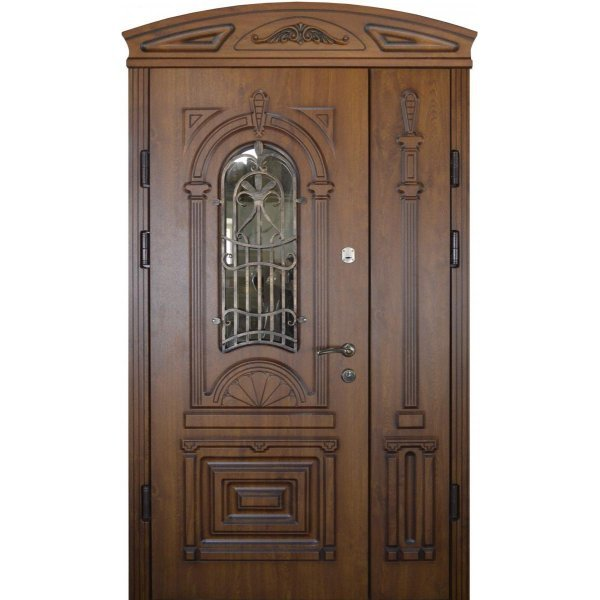 """Вхідні двері Термопласт+ """"Стандарт 90"""", 1170х2050, Ліві, 22, ПВХ-02"""