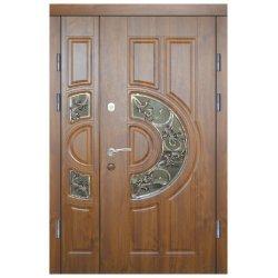 """Вхідні двері Термопласт+ """"Стандарт 90"""", 1170х2050, Ліві, 9, ПВХ-90"""